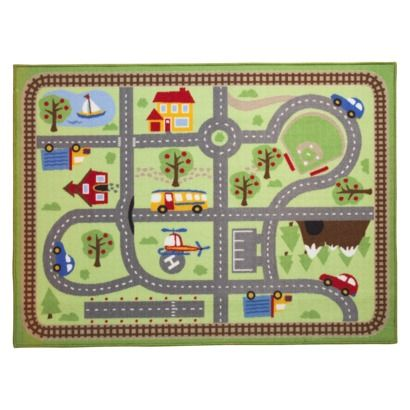 Target Rug Only 20 Dollars Great For Free Play Center Circo Road Activity Mat Area