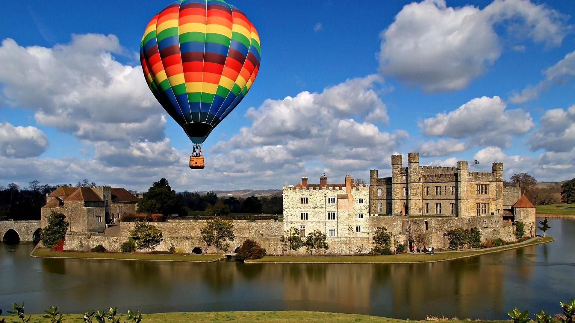 colorful hot air balloon wallpaper - Google Search ...
