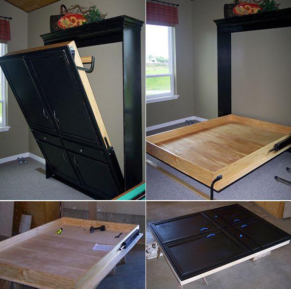 Bett Zum An Die Wand Klappen bett selber bauen für ein individuelles schlafzimmer design bett