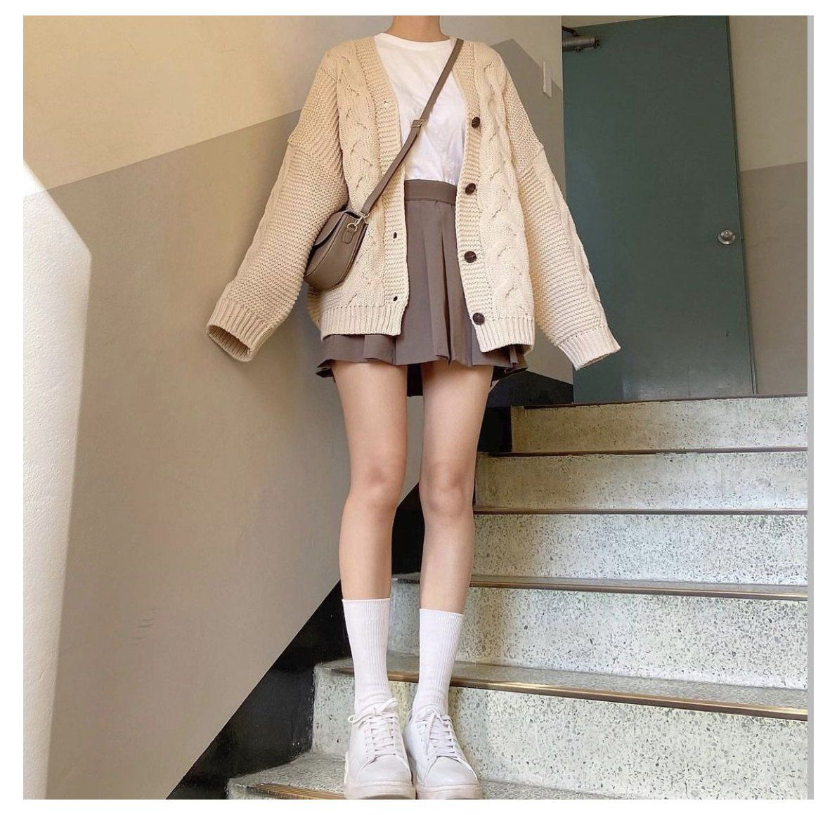 korean cardigan outfits summer