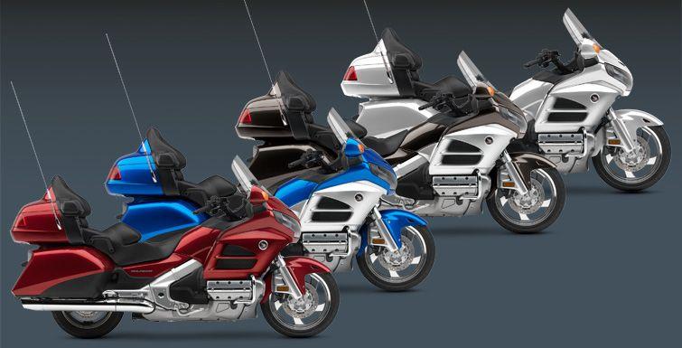 The 2013 Honda Goldwing Line-up   Motorcycle   Pinterest   Honda ...