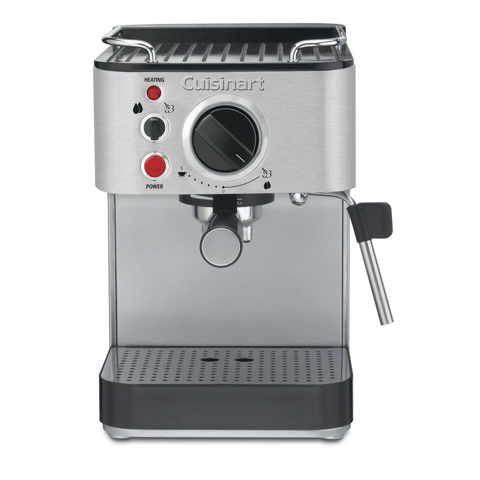 Cuisinart Stainless Steel 15 Bar Espresso Maker (Cuisinart Em 100 1000 Watt
