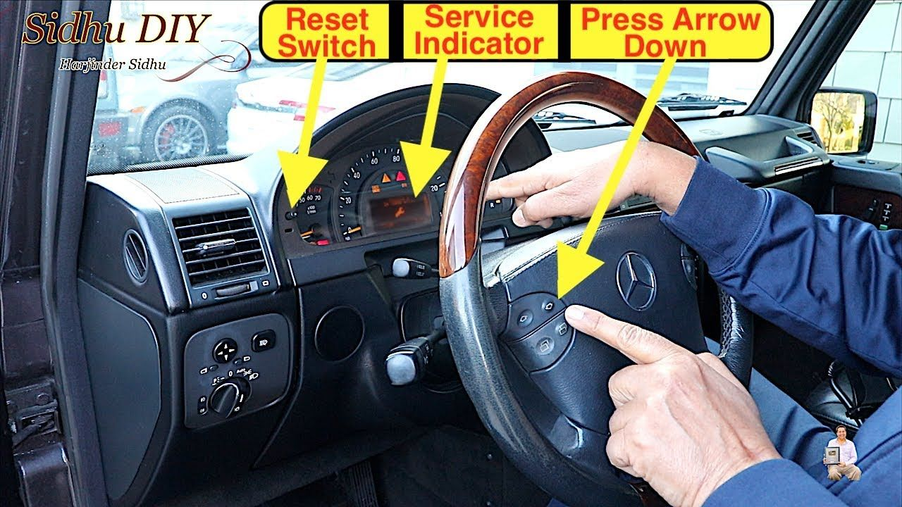 How To Reset Service Indicator Life After Oil Change on
