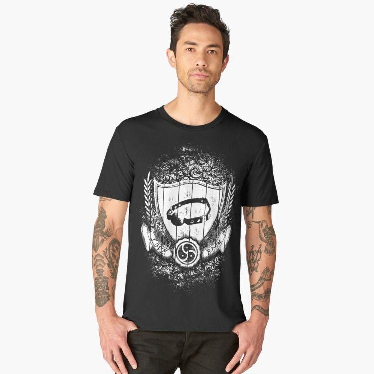 T-shirt: Love BDSM 1 | Displate thumbnail