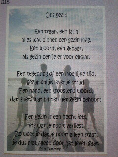 Citaten En Gedichten : Gedicht quot ons gezin geluk familie gedichten citaten