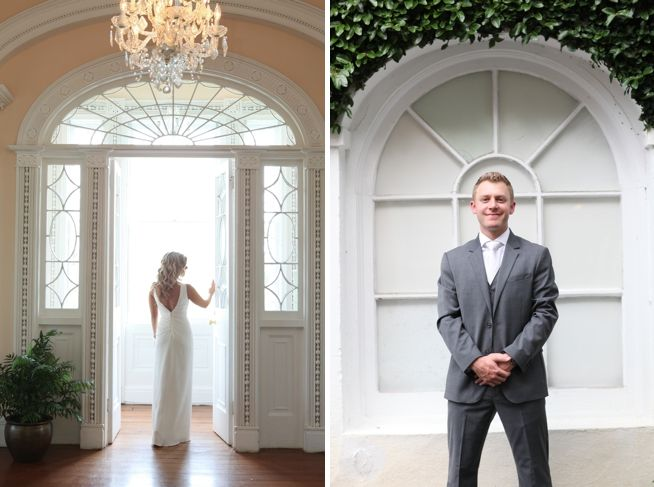 Governor Thomas Bennett House wedding interior