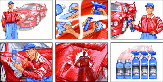 Resultado De Imagem Para Storyboard Commercial  Storyboard
