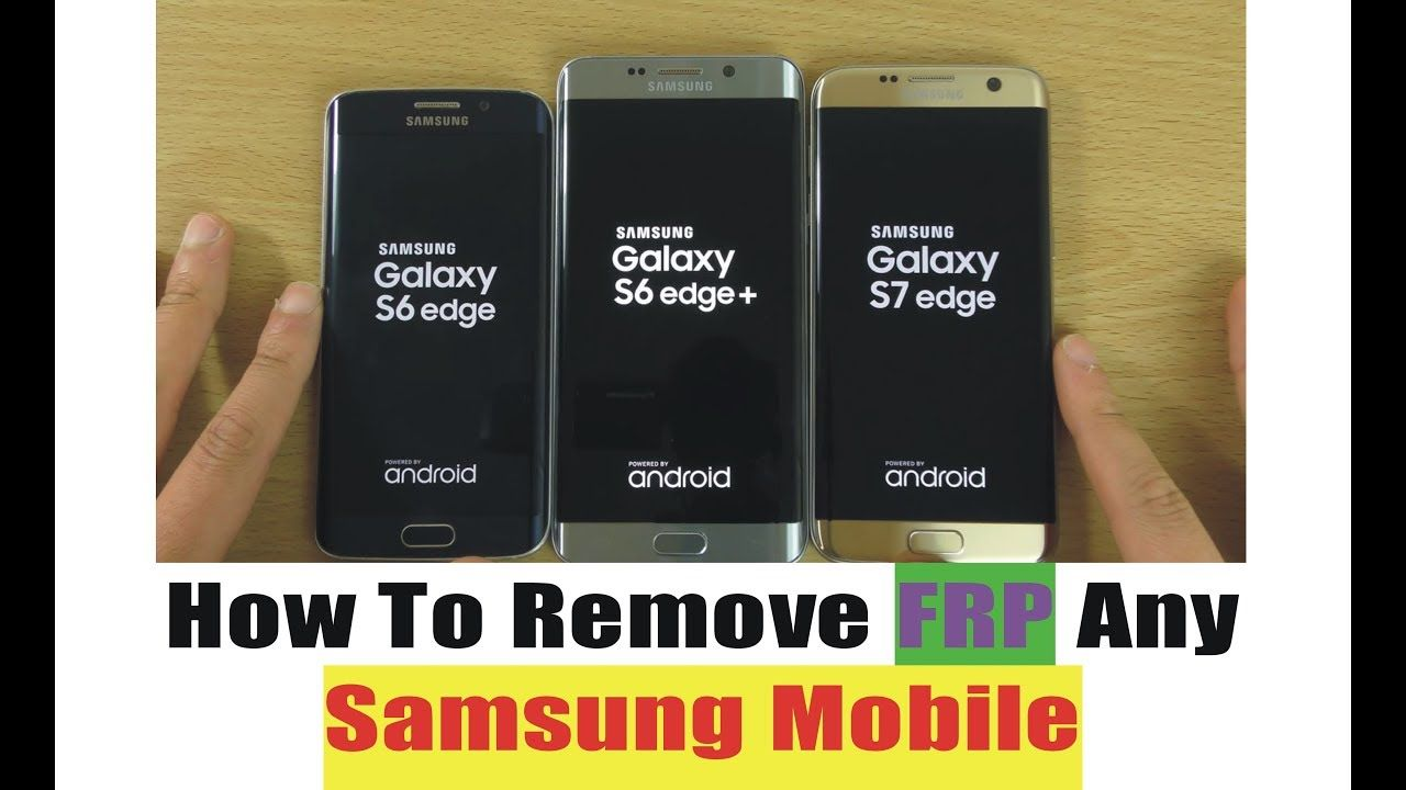 How To Remove FRP Lock Any Samsung Mobile Google ID Bypass