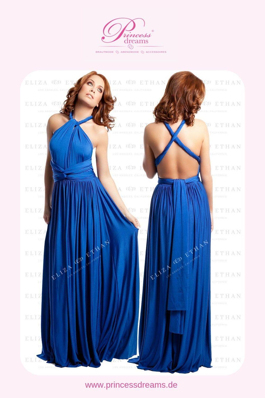 wickelkleid für brautjungfern in blau! das wunderschöne