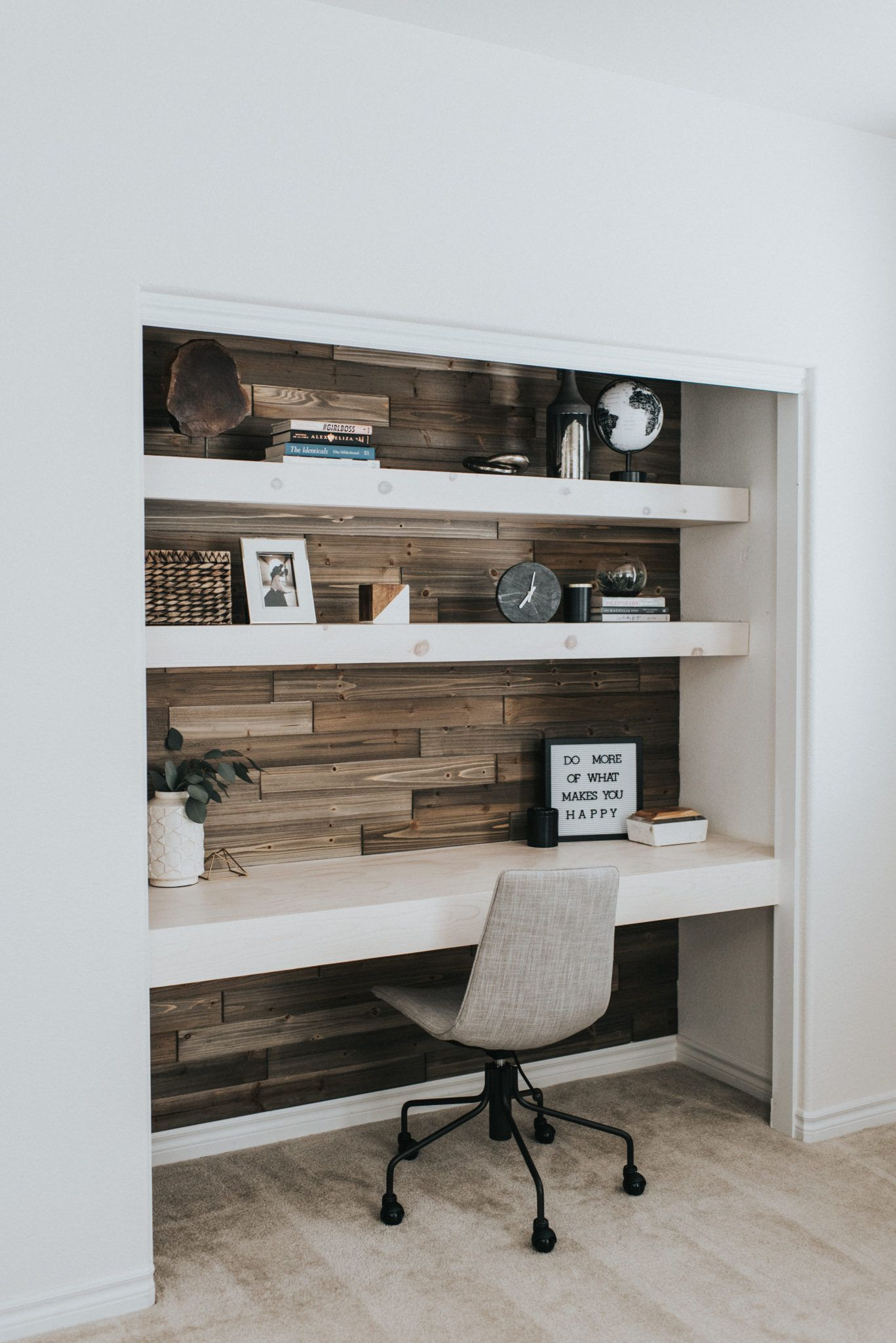 Contemporary Office Ideas Diy Closet Office Outfits Outings Home Office Closet Home Office Decor Home Office Design