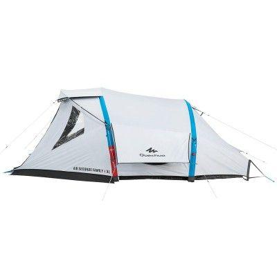 All Tents Camping Air Seconds Family 4 Xl Fresh Black Inflatable Tent 4 Man Quechua Tents Camping Tent Tent Camping