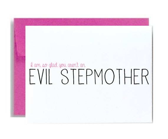 Funny Step Mom Mothers Day Greeting Card Stepmother I Am So