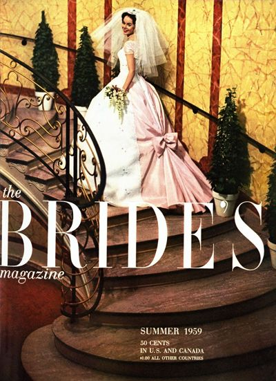 Summer 1959 the Bride's Magazine, vintage 1950s