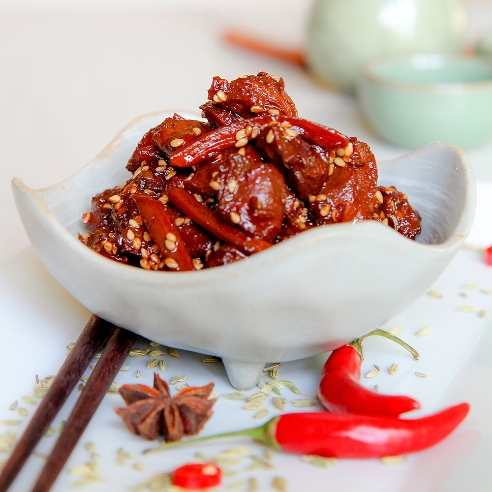 Gizzards Stew Chinese Recipe With Soy Sauce And Sesame Seeds Recipe Recipes With Soy Sauce Food Chinese Cooking Wine