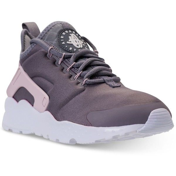 promo code 56611 fe791 Nike Women s Air Huarache Run Ultra Running Sneakers from Finish Line ( 115)  ❤ liked on Polyvore featuring shoes, sneakers, nike footwear, nike, ...