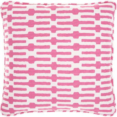 Links Pink Decorative Pillow