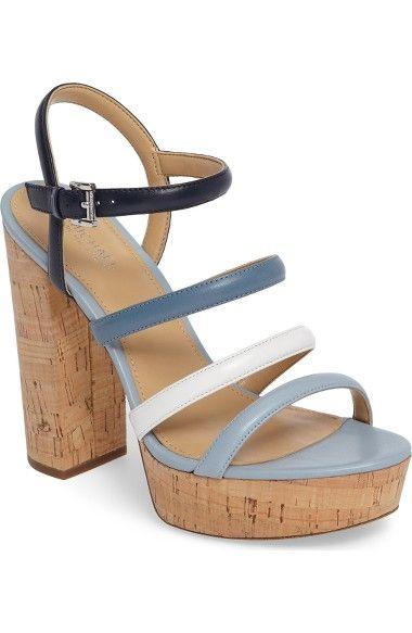 5a0721274ae MICHAEL MICHAEL KORS Nantucket Platform Sandal.  michaelmichaelkors  shoes   sandals