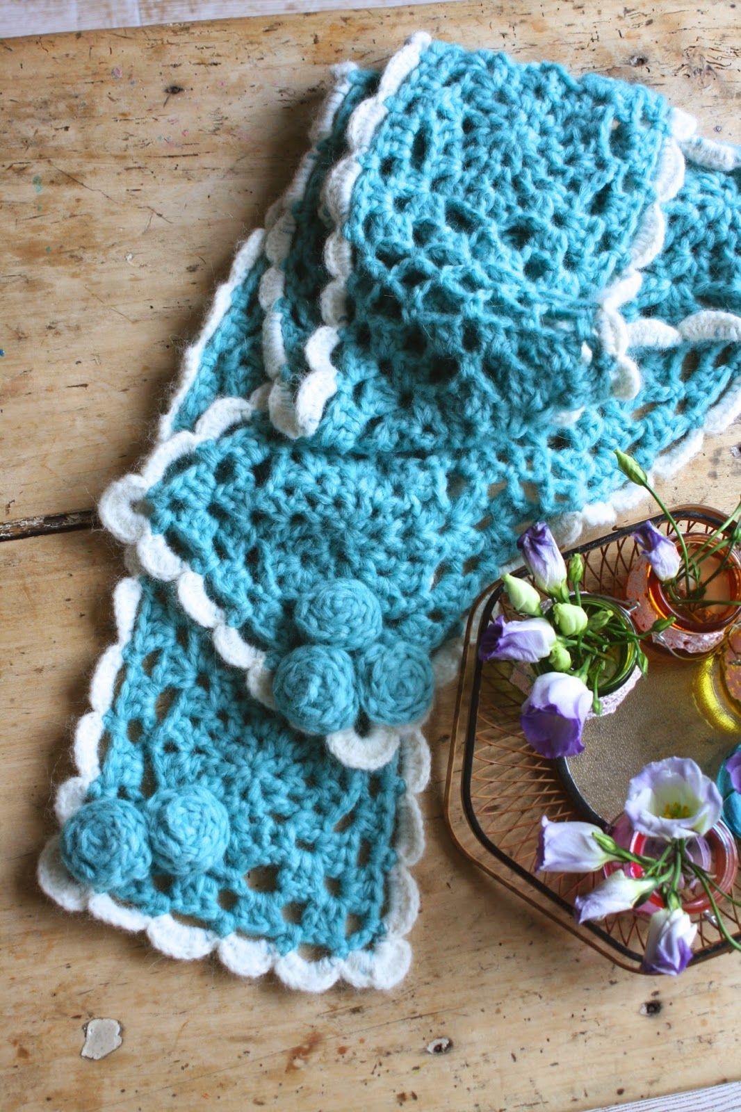 Haken Bij Saar En Mien By Claire Gehaakte Sjaal Crocheted