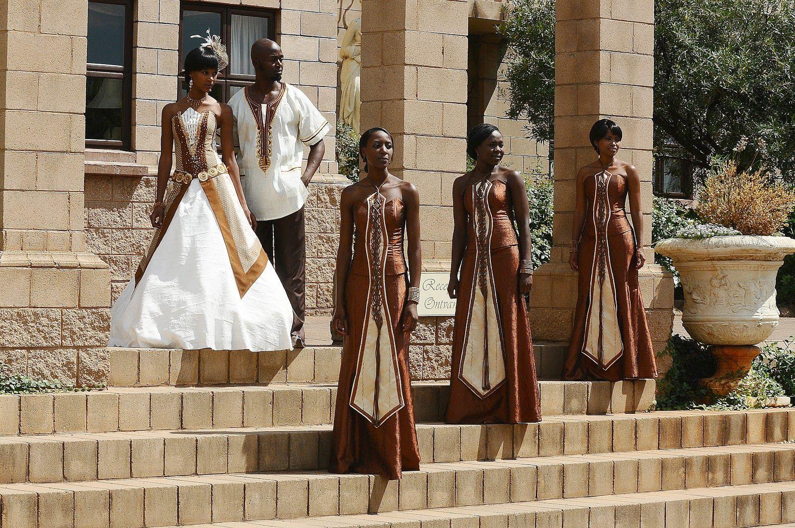 African wedding dresselove these details oversea flavor