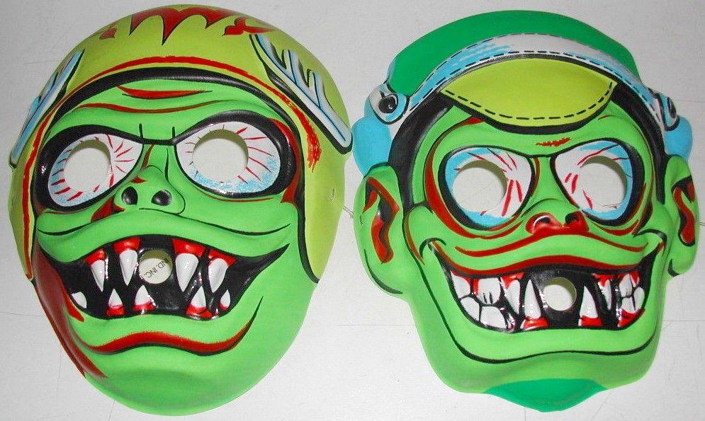 TOPSTONE 1960s HOT ROD MONSTER Masks Monster mask, Mask