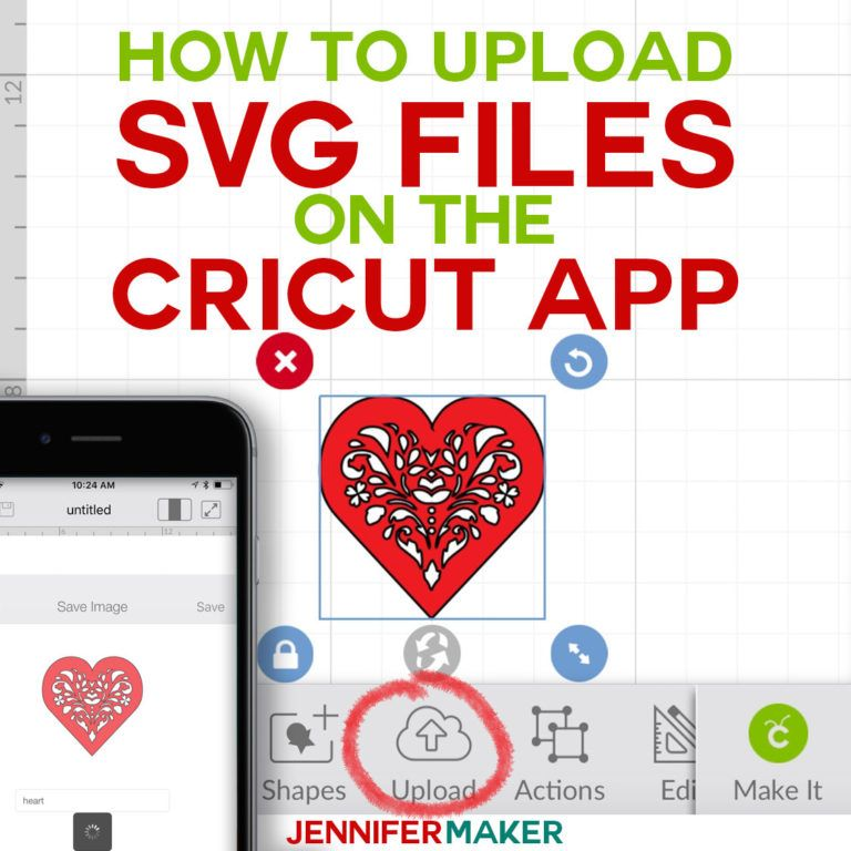 How to Upload SVG Files to Cricut Design Space App on