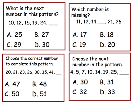 Here S A Set Of 32 Question Cards On Growing Patterns These Are