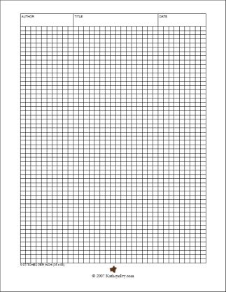 Great Tools For Pattern Making Graph Paper  StitchesInch