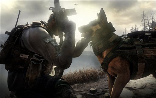 Review: 'Call of Duty' has new dog but old tricks
