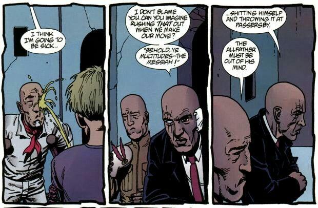 Preacher Comic