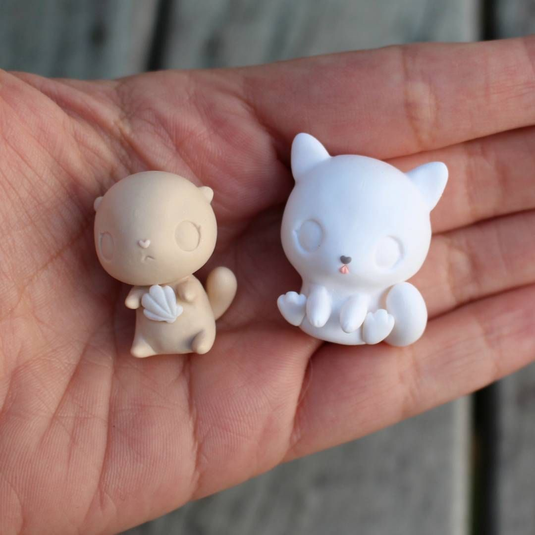 thelittlemew: Two more little critters, an Otter and little wolf cub!