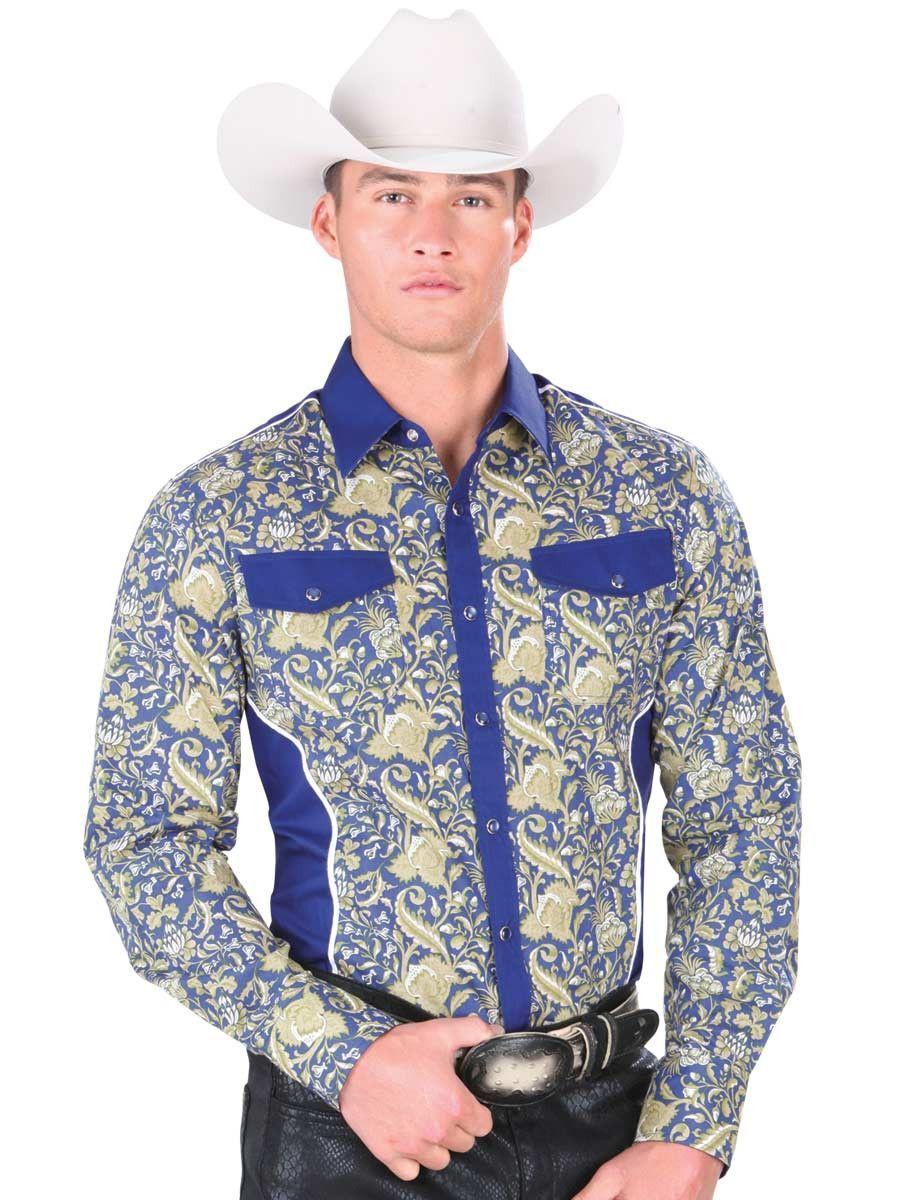 abf900cf51 34226 Camisa Vaquera Manga Larga De Hombre  El General