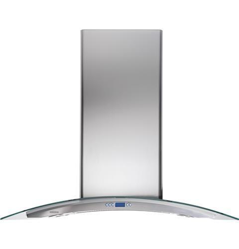 Monogram 36 Glass Canopy Hood Zv925slss Monogram Appliances Stainless Steel Range Hood Stainless Range Hood