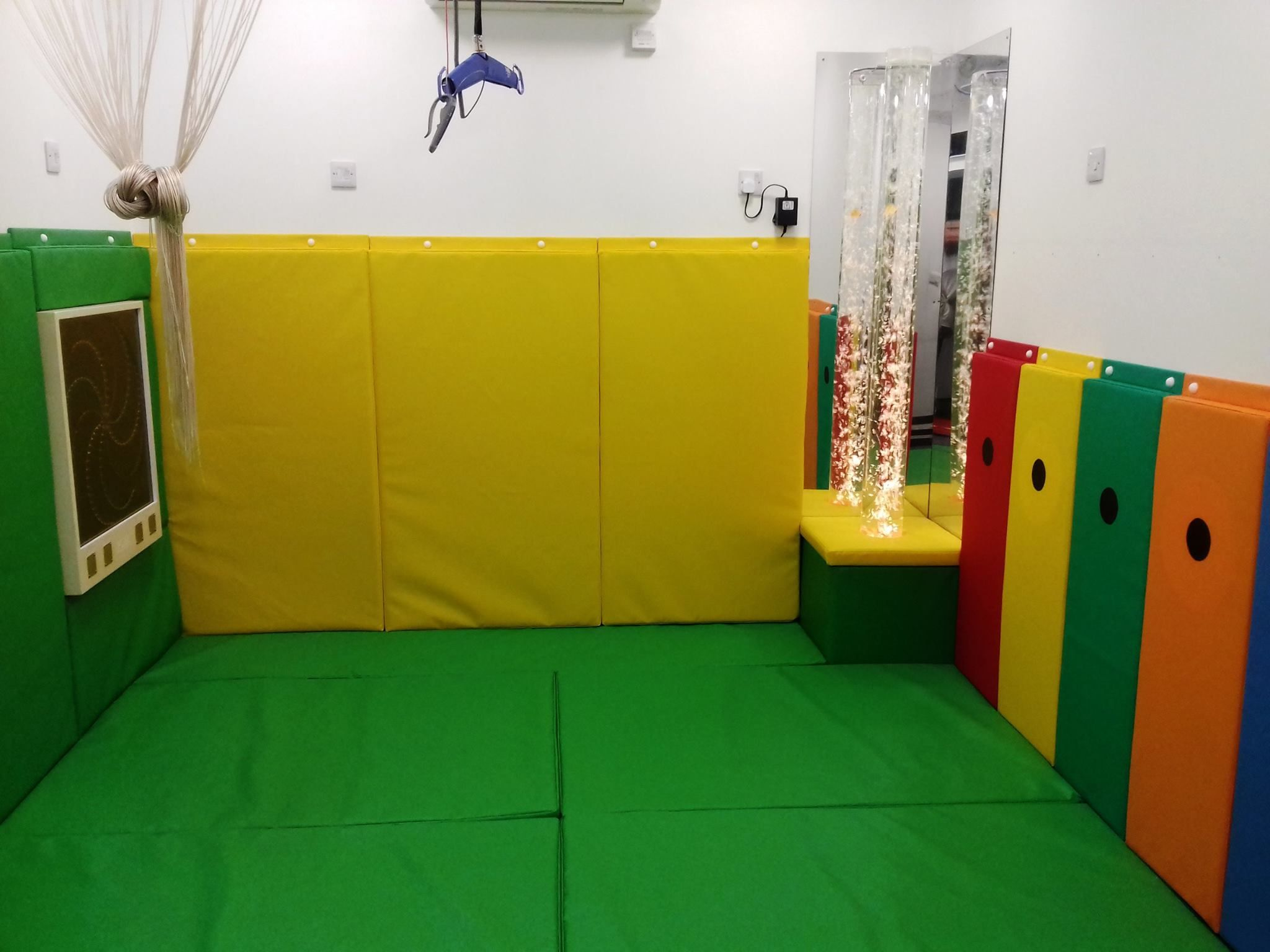 Soft play padding for schools, hospitals and care homes