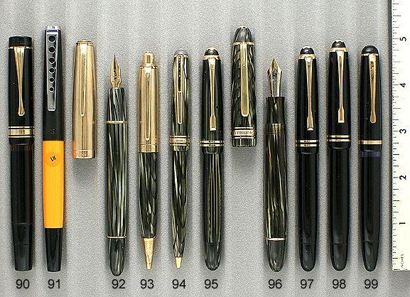 Vintage Pens Catalog 54 (March 2010)   Fountain Pens