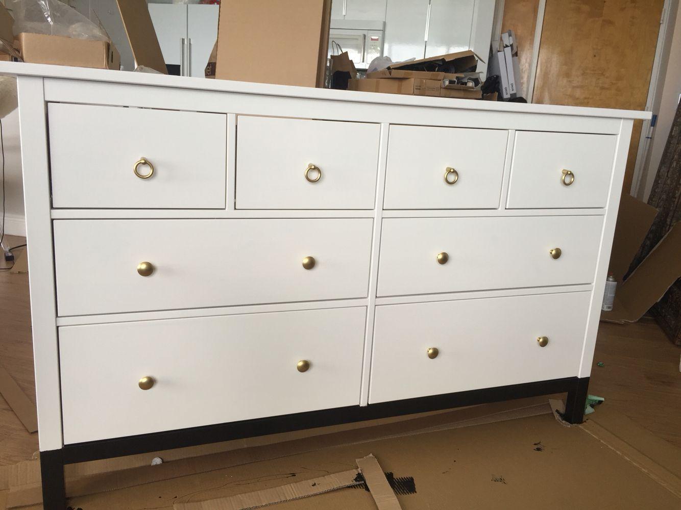 Ikea Hemnes Dresser White Paint