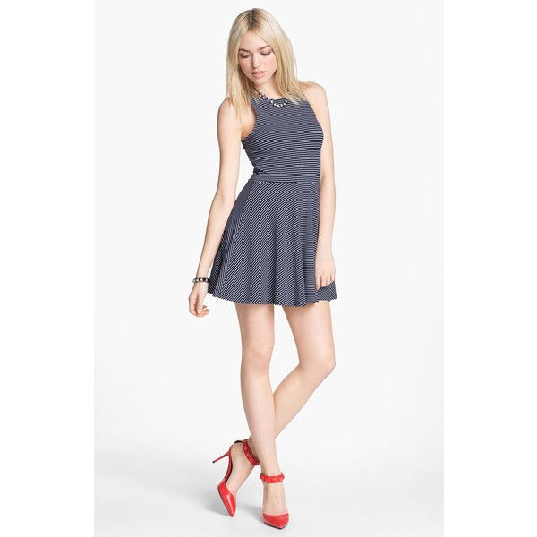 MINKPINK Skater Dress ($70) ❤ liked on Polyvore