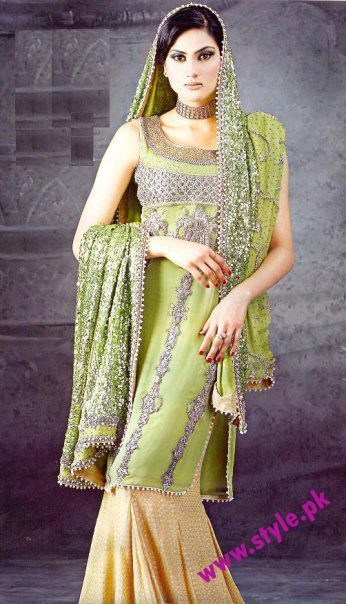 Mehndi Dresses For Girls 2012 Pakistani Bridal Deemas Fashion Fashion