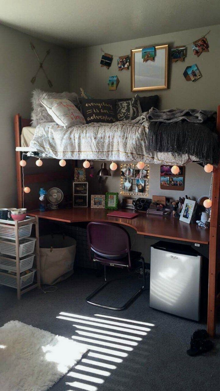 32+ cute dorm rooms we're obsessing over 2 #cutedormrooms