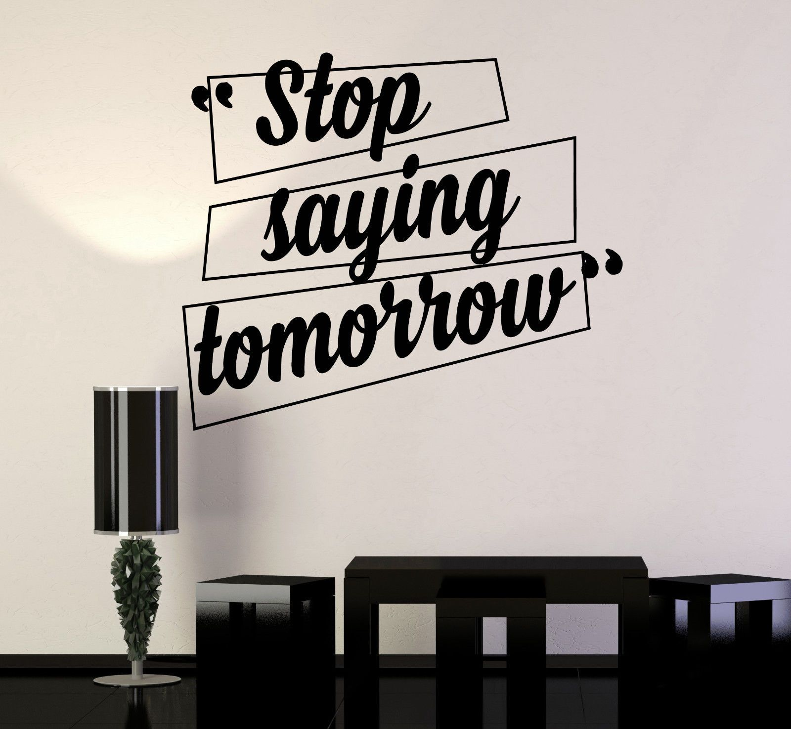 Vinyl Wall Decal Motivation Quotes Office Home Inspiration Stickers (ig4197)    eBay
