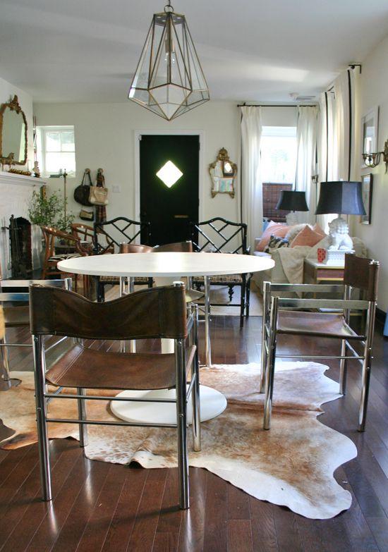mid centure modern vintage chrome leather chairs design manifest