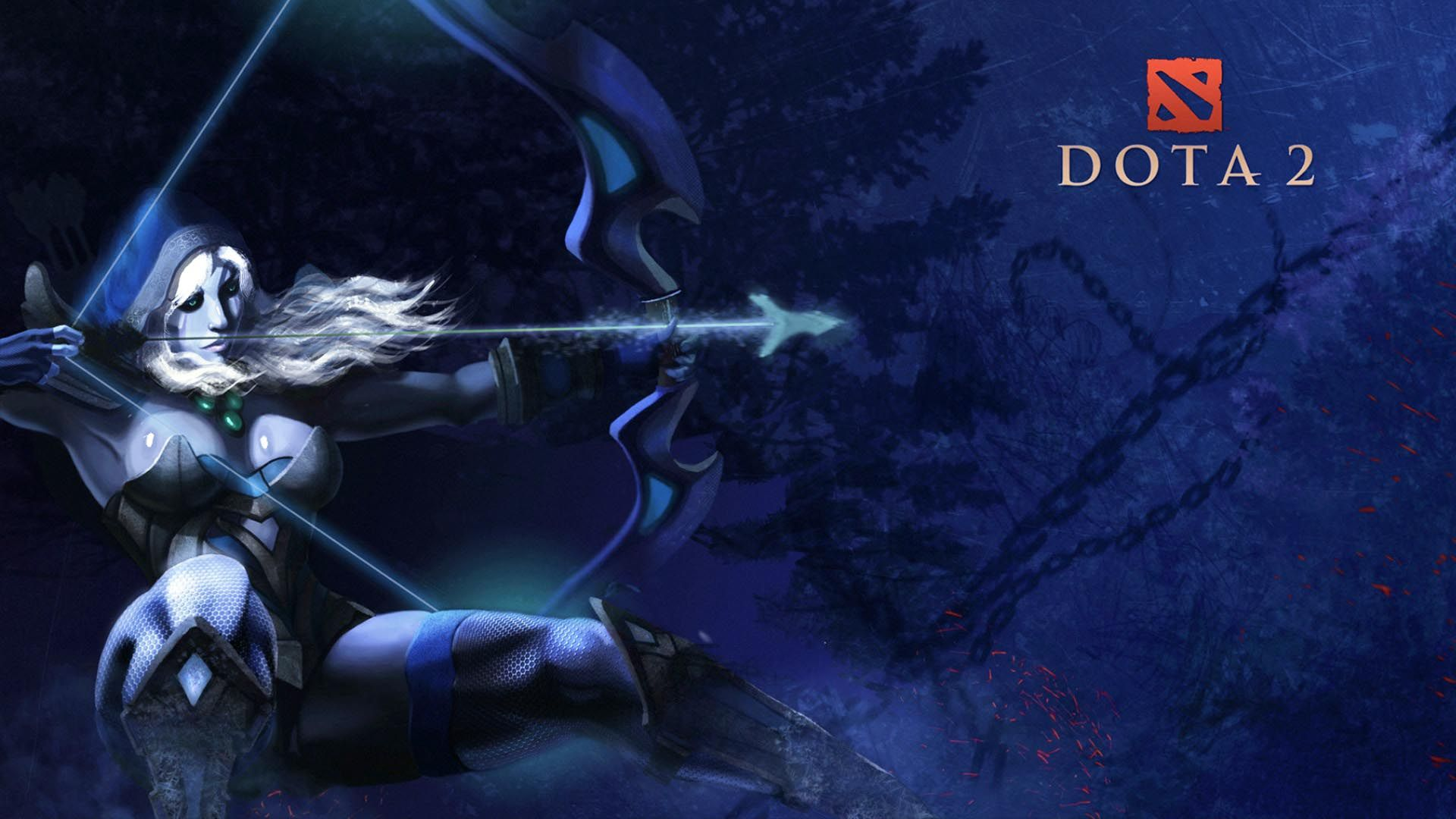 Dota 2 Drow Ranger Wallpaper For Iphone For Desktop 1920x1080 Px