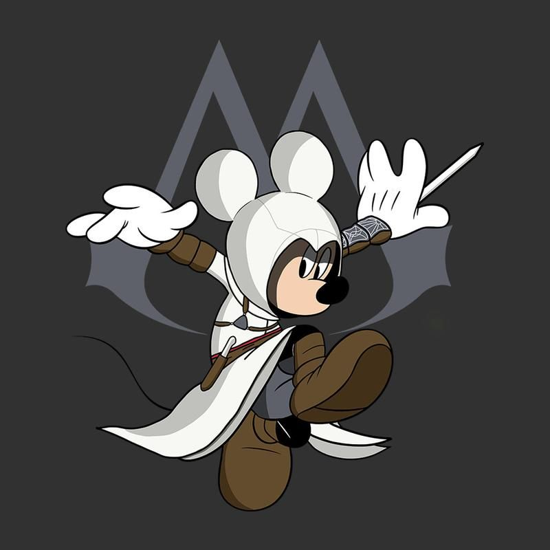 Image result for assassin creed mickey | Kid Birthday Ideas