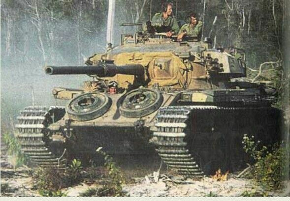 Australian tanks Centurion Mk 5/1 Vietnam.