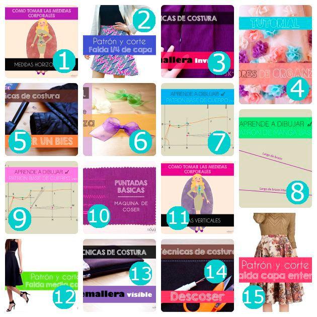 tutoriales de costura                                                       …