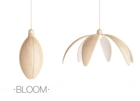 Bloom: Lamp Opens Like a Flower to Adjust Brightness Read more ...