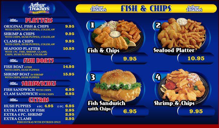 arthur treacher fish and chips