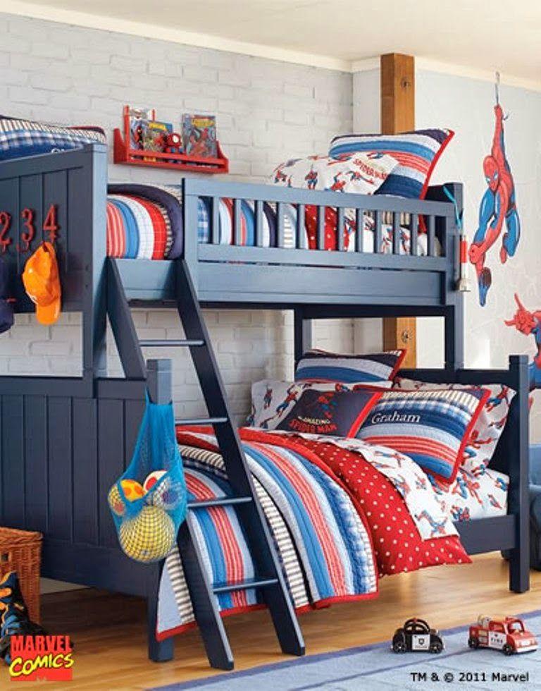 Themed Kids Bedroom Design Superhero Nunudesign Smorgasbord Of