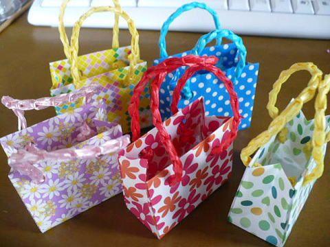 クリスマス 折り紙 折り紙 袋 折り方 : pinterest.se
