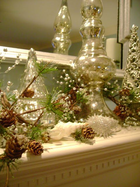 mantel decor christmas joy to the world and my house Pinterest - christmas decorations for mantels