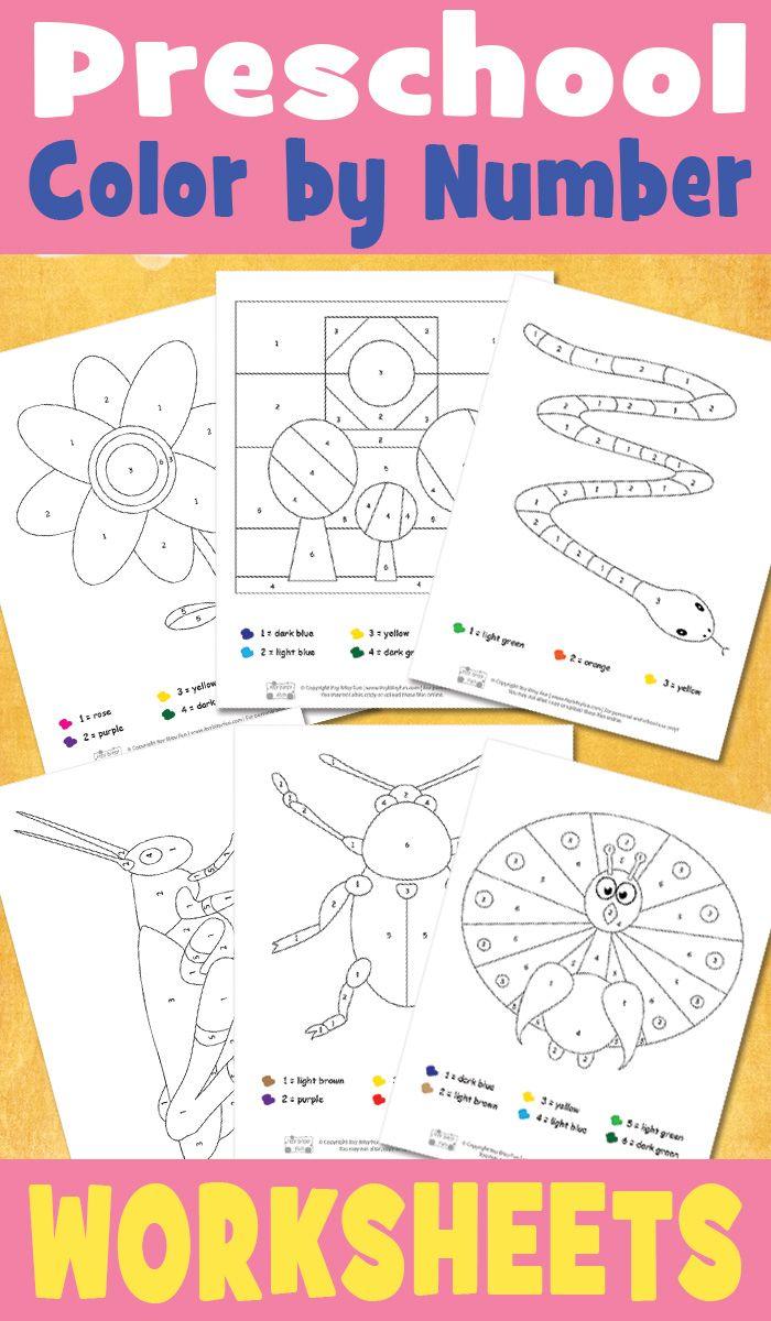 Preschool Color By Number Worksheets Itsybitsyfun Com Preschool Colors Numbers Kindergarten Kindergarten Worksheets Printable [ 1200 x 700 Pixel ]